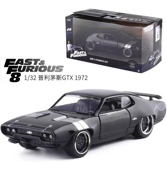 Plymouth Gtx 1972 Velozes E Furiosos 8 Escala 1/32 Toretto
