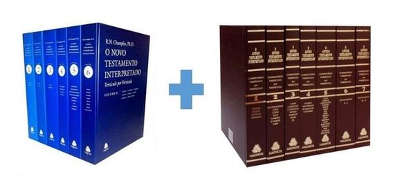 Box Antigo E Novo Testamento Interpretado Versículo Por Vers