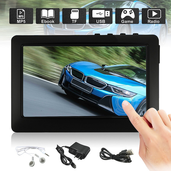 4.3 Polegada Tft Touch Screen 8 Gb Mp3 Mp4 Mp5 Player Digita