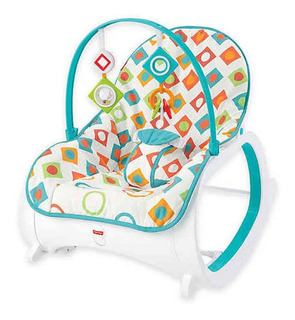 Bouncer Mecedora Portabebé Fisher Price 0-4 Años Msi