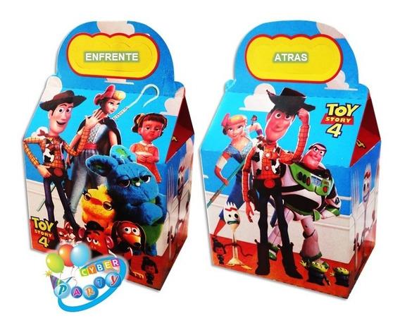 Toy Story Forky 10 Cajas Dulceras Fiesta Woody, Buzz Bolo