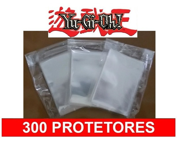 300 Protetores Sleeves Shields Card Game Yu Gi Oh Munchkin