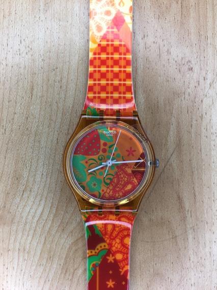 Relógio Swatch Olympic Games Sochi 2014 - Novo