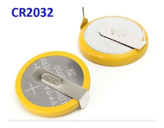 1 Bateria Cr2032 Cartucho N64 Snes / Mega Drive Pinos Solda