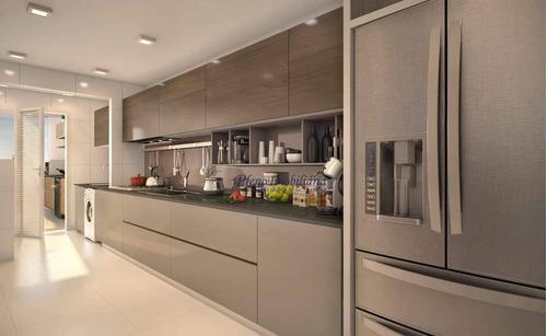 Imagem 1 de 21 de Apartamento Com 2 Dormitórios Sendo 1 Suíte, À Venda, 88 M² Por R$ 498.746 - Maracanã - Praia Grande/sp - Ap0805