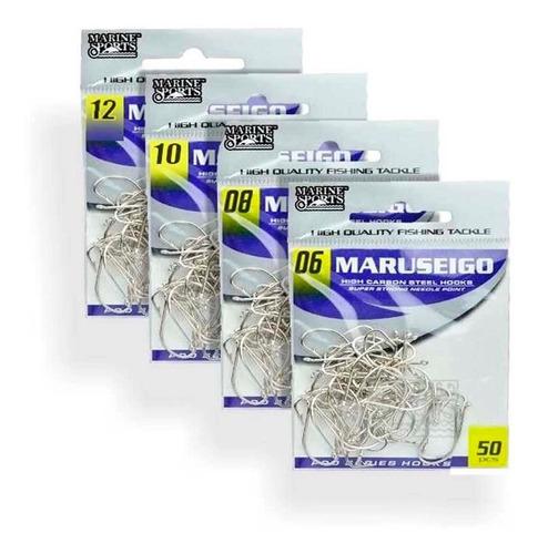 Kit Anzol Marine Sports Maruseigo Nickel 06, 08, 10 E 12