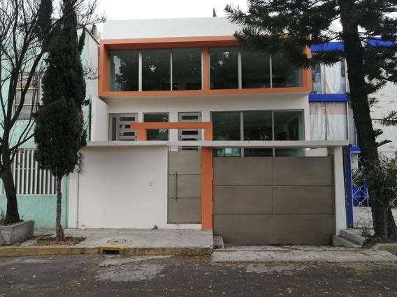Hermosa Casa Recién Remodelada En Residencial Coapa