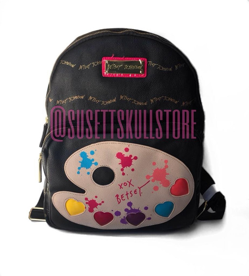 Betsey Johnson Mochila Paint