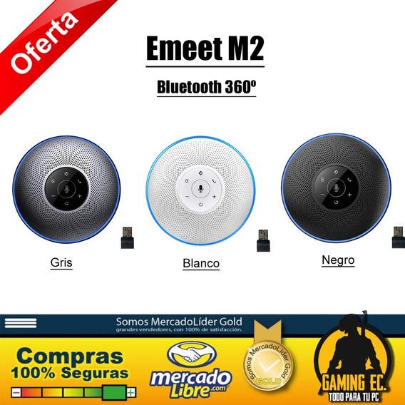 Emeet M2 Micrófono Para Conferencias Bluetooth 360º