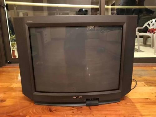 Televisor Sony Trinitron 29 Lo Mejor Para Retrogaming