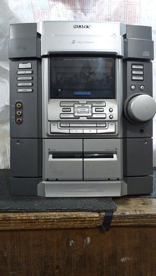 Micro System Sony Hcd Mhc-rg33 Consertar Ou Tirar Peças