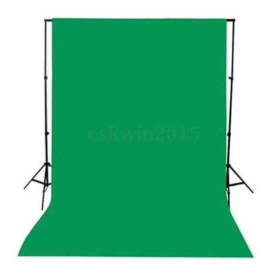 Backgrounds Pano 1.5x1m Verde Fotografia Tecido Cromakey Fun
