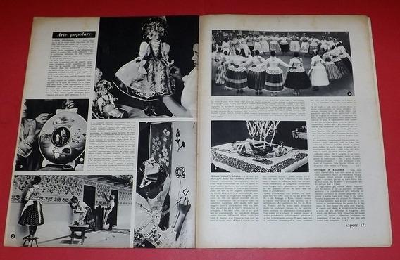 Revista Antiga Sapere - Itália 1938 Rara