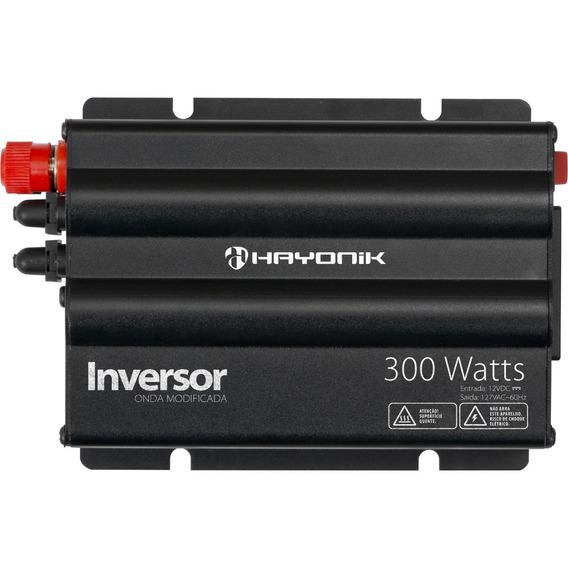 Inversor 300w 12vdc/220v Onda Modificada Cinza Hayonik