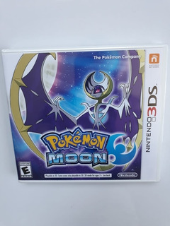Pokemon Moon Luna Juego Nintendo 3ds Nuevo Y Sellado