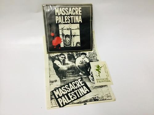 Massacre Palestina, Vinilo Original 1987, Nuevo!,  No Envío!