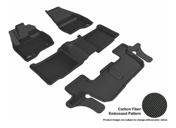 Tapete 3d Maxpider 1ra+2da+3ra Fila Ford Explorer 2015-2019