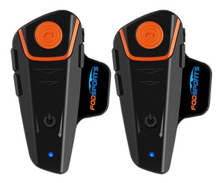 Intercomunicador X2 Bluetooth Casco Moto 1000m Bt-s2 Pro