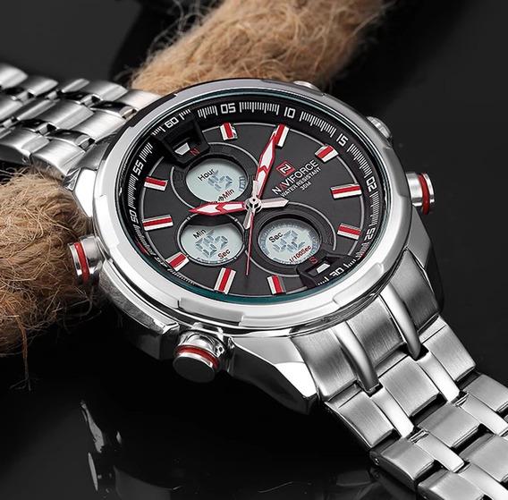 Relógio Naviforce Aço Inoxidável