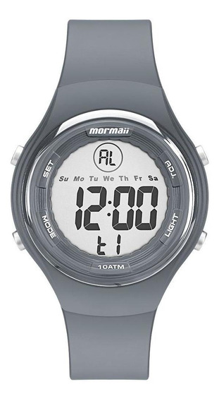 Relógio Feminino Mormaii Wave Prata - Original