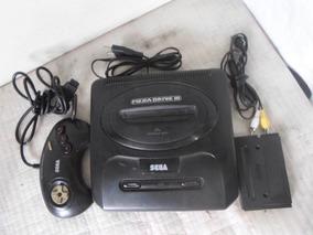 Mega Drive 3 + Controle Original + 110/220v + Cabo Av + Jogo