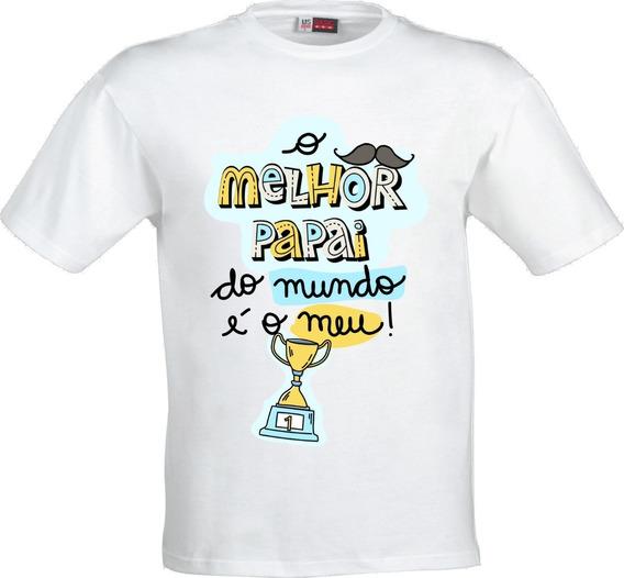 Camiseta Infantil O Melhor Papai Do Mundo, Dia Dos Pais