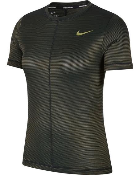 Camiseta Nike Dry Miler Shine Feminina
