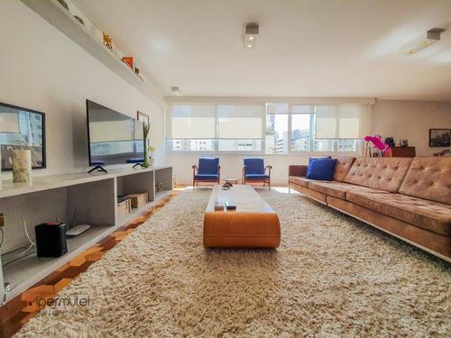 Ótimo Apartamento Com 3 Suítes À Venda, 207 M² - Jardim Paulista - São Paulo/sp - Ap1899