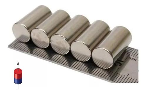 1 Iman Neodimio Cilíndrico 10mm X 20mm Super Potente Xto