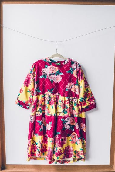 Vestido Infantil Floral , Estampa Tendencia