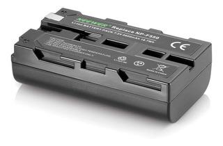 Batería Cámara Sony Pila Lampara Led Np-f550 F570 F750 F970