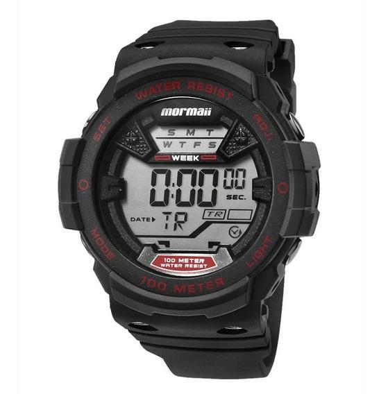 Relógio Mormaii Masculino Acqua Preto Mo3500a8r
