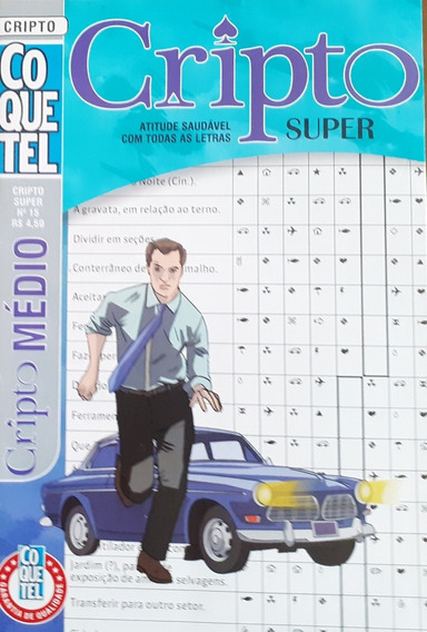 Oferta 20 Revistas Só Cripto/ Nível Médio Coquetel