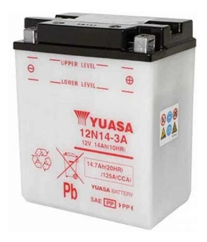 Batería De Moto Yuasa 12n14-3a, Delivery.