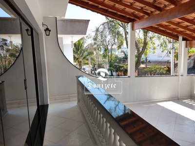 Sobrado Com 3 Dormitórios À Venda, 300 M² Por R$ 1.300.000 - Vila Scarpelli - Santo André/sp - So2550