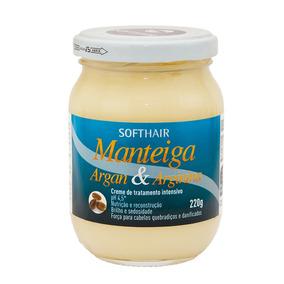 Manteiga Argan E Arginina 220g