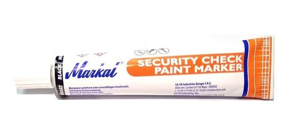 Marcador Seguridad Pintura Markal Security Check