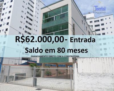 Apartamento Em Praia Grande, 02 Dormitórios, Na Vila Tupi Ap1250 - Ap1250