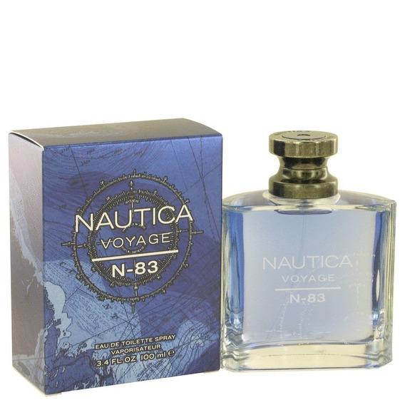 Perfume Nautica Voyage N-83 Masculino 100ml Edt - Original