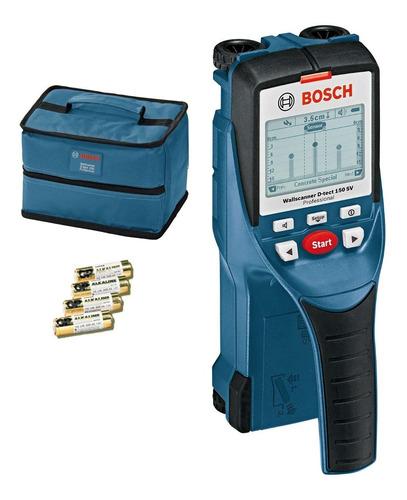 Detector De Materiales 15cm Bosch D-tect150