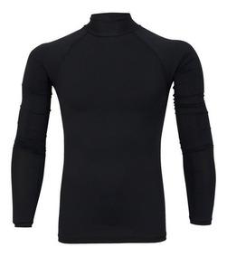 Camisa Feminina Compressão Proteção Solar Uv-50