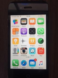 I-phone 4s Preto + Acessórios