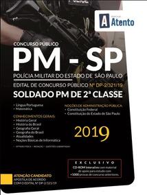 Apostila Polícia Militar De São Paulo 2019 - Soldado Pm Sp