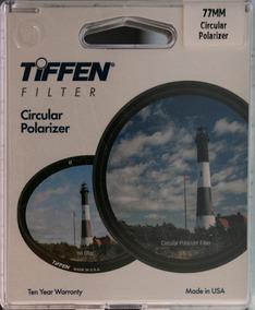 Filtro Tiffen Cpl 77mm - Polarizador - Item Novo
