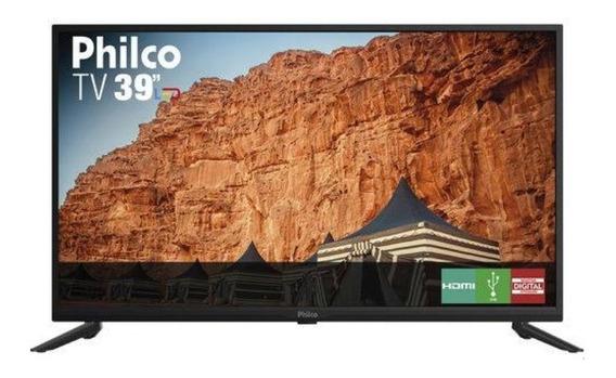 Tv Led 39 Philco Ptv39f61d Hd Com Conversor Digital Integrado 2 Hdmi 2 Usb Recepção Digital