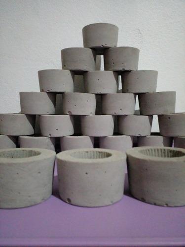 Imagem 1 de 4 de Cachepô Baby Kit 6 Unidades/natural Sem Pintura Promoção