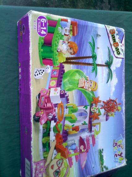 Set De Lego Para Niñas Playa Banbao Trendy Beach (30 V3rds)