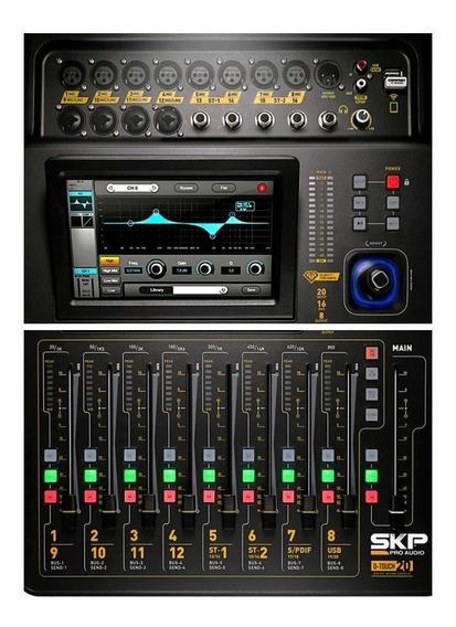 Mixer Mesa De Som Digital 16 Canais Skp D Touch 20 Com Wifi.