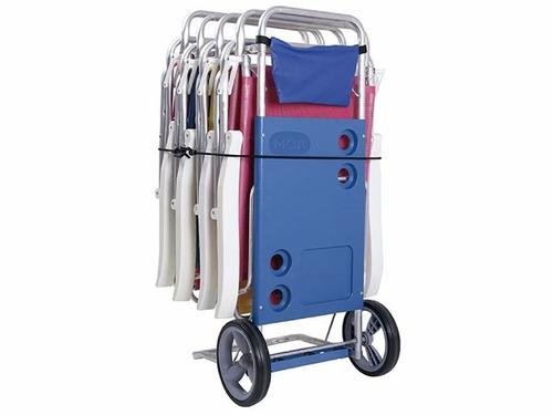 Carro Mor Carrito De Playa Aluminio Mesa Sillas Disershop Mercado Libre