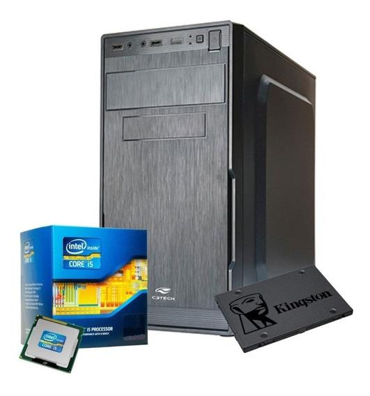 Pc Cpu Intel Core I5 3º3,2ghz+16gb Ram+ssd240gb Só Hj